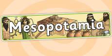 Mesopotamia Display Banner