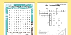 Irish History 1916 Rising Word Search and Crossword