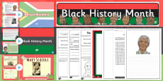 Black History Month Resource Pack