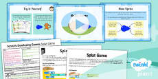 PlanIt - Computing Year 5 - Scratch Lesson 4: Splat Game Lesson Pack