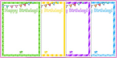 8th Birthday Party Editable Poster