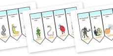 Editable Bookmarks to Support Teaching on James and the Giant Peach