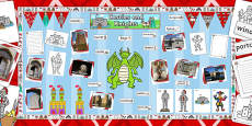 Ready Made Knights and Castles Display Pack