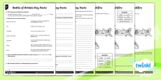 PlanIt Y5 World War II: Battle of Britain Home Learning Tasks