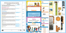 EYFS The Four Seasons Bumper Discovery Sack Plan and Resource Pack