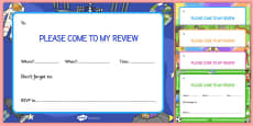 Person Centered Review Invitation