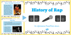 History of Rap PowerPoint
