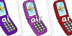 Phase 3 Phonemes on Mobile Phone