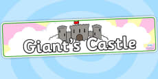 Giants Castle Display Banner