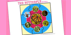 Australia - Life Cycle of a Butterfly Jigsaw
