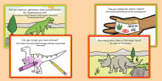 Challenge Cards Dinosaur Park Polish Translation