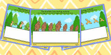 The Gruffalo Size Ordering Activity Flipchart