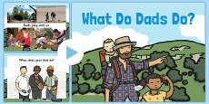 What Do Dads Do PowerPoint
