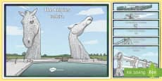 * NEW * CfE Scottish Landmarks Display Poster