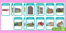 Houses and Homes Flashcards