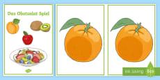Fruit Salad Game German