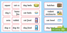 Pet Shop Labels