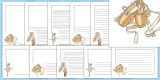 Ballet Page Borders