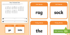 * NEW * Phase 2 Phonics Assessment Pack