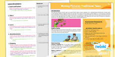 PlanIt - D&T KS1 - Moving Pictures: Traditional Tales Planning Overview