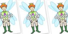 KS1 Keywords on Fairy Prince