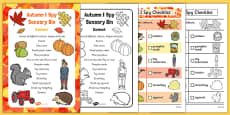 Autumn I Spy-Sensory Bin and Prompt Card Pack