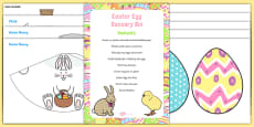 Easter Sensory Bin and Resource Pack