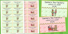 Australia - Toy Factory Role Play Tickets
