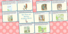 The Tale of Jemima Puddle-Duck Story Cards (Beatrix Potter)