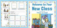 Welcome to Your New Class Booklet Romanian Translation