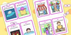 Replace The Noun With A Pronoun Cards