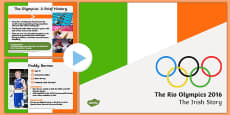 Team Ireland at Rio Olympics 2016 PowerPoint