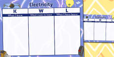 Electricity Topic KWL Grid