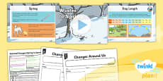 PlanIt - Science Year 1 - Seasonal Changes (Spring and Summer) Lesson 1: Winter to Spring Lesson Pack