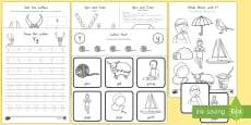 Letter Y Activity Pack