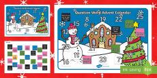 Question Word Advent Calendar