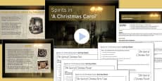 A Christmas Carol Lesson Pack 5: Spirits - Stave Four