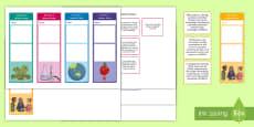 * NEW * Year 3 Australian Curriculum Science Goals Bookmarks