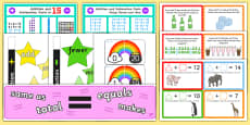 Addition and Subtraction Display Pack KS1 Year 1