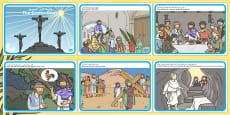 The Easter Story Arabic Translation