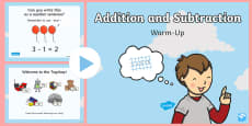Year 1 Addition and Subtraction Warm-Up PowerPoint