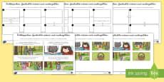 Rotkäppchen Geschichte Ordnen und Nacherzählen Arbeitsblatt