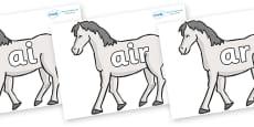 Phase 3 Phonemes on Horses