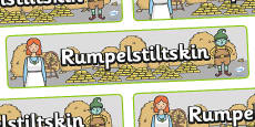 Rumpelstiltskin Display Banner