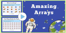 Amazing Arrays PowerPoint