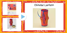 Chinese Lantern Craft Instructions PowerPoint