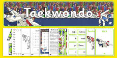 The Olympics Taekwondo Resource Pack