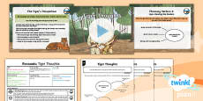 PlanIt Y6 Animals: The Tyger Lesson Pack Recounts 2