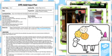 Woolly Sheep Activity EYFS Adult Input Plan And Resource Pack