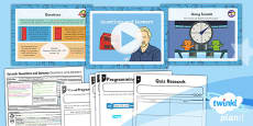 PlanIt - Computing Year 4 - Scratch Questions and Quizzes Lesson 1: Questions and Answers Lesson Pack